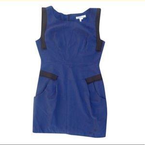 Bcbgeneration Deep Blue Sleeveless Dress